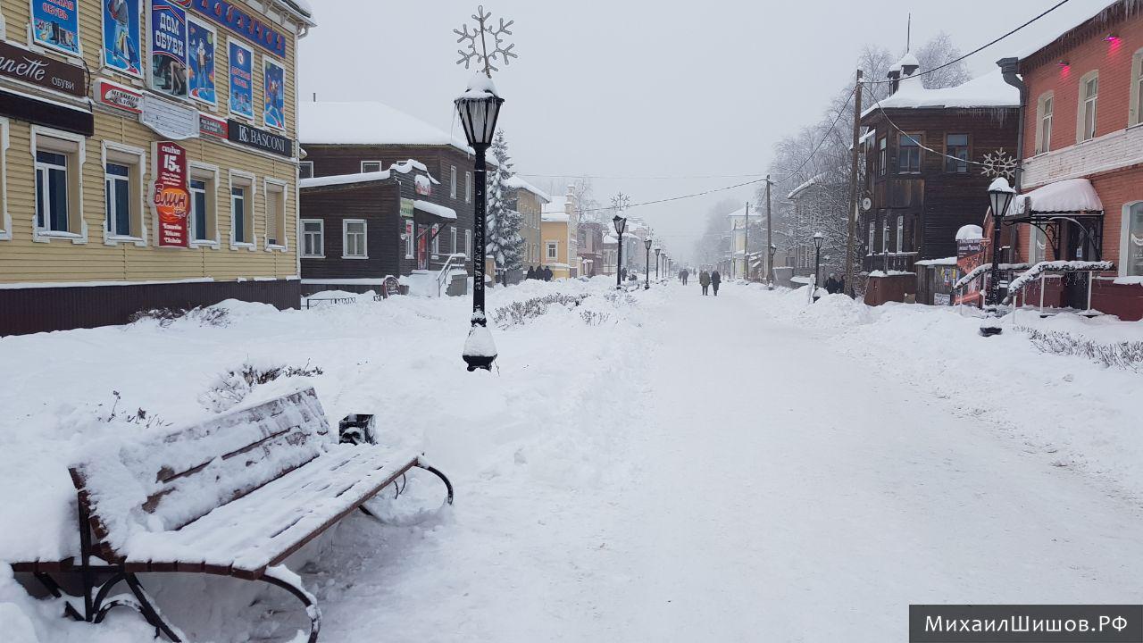 Архангельск накрыл туман с неприятным запахом