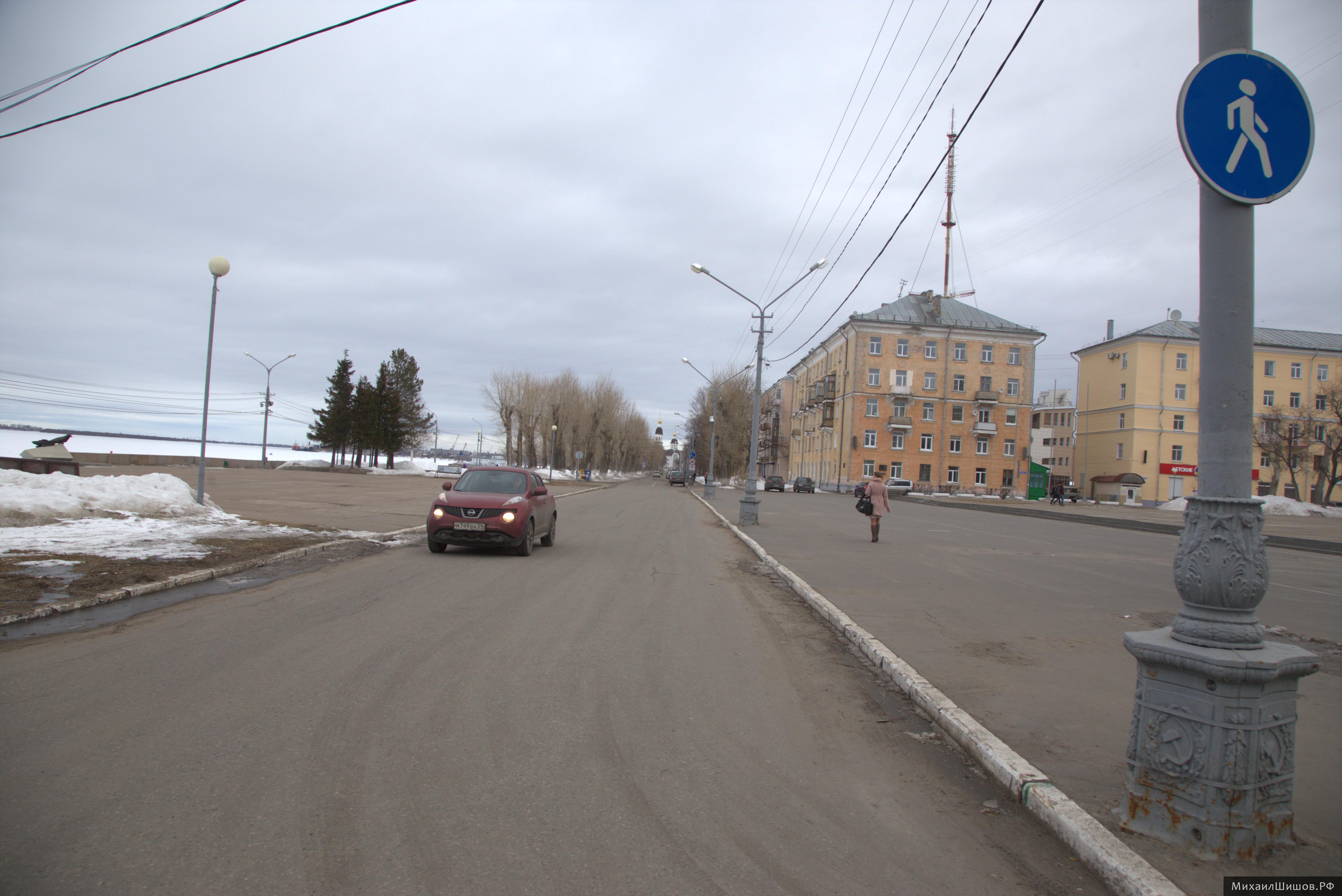В Архангельске нет ГИБДД