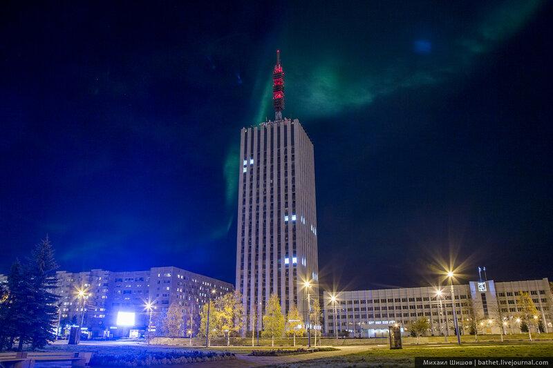 А я остаюсь в Архангельске