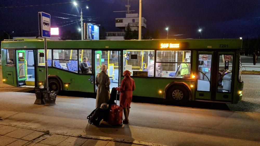 Что делать с автобусами?